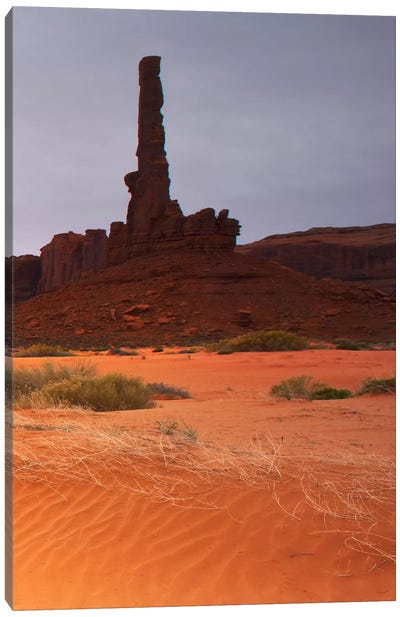 Monument Valley Panorama #1, part 3 of 3 Canvas Print #MOL45