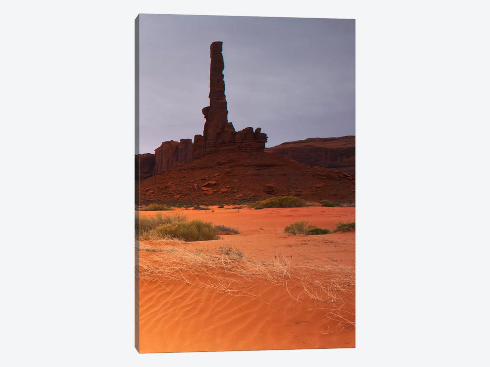 Monument Valley Panorama #1, part 3 of 3 by Moises Levy 1-piece Canvas Print