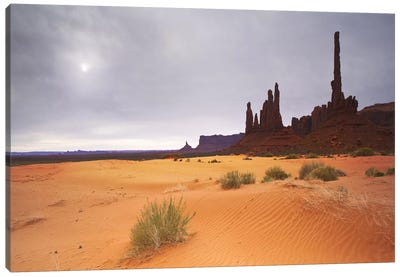 Monument Valley Panorama #1 Canvas Print #MOL46
