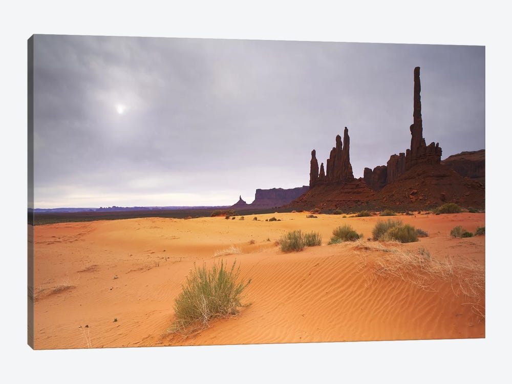 Monument Valley Panorama #1 by Moises Levy 1-piece Canvas Art
