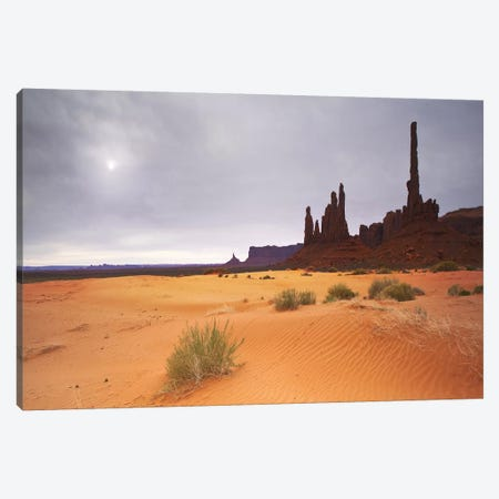 Monument Valley Panorama #1 Canvas Print #MOL46} by Moises Levy Canvas Art Print