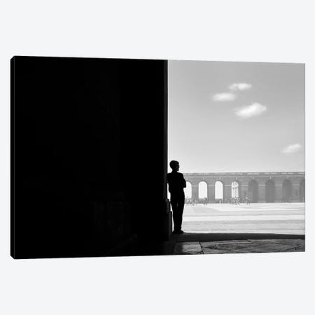 Man in Black Canvas Print #MOL479} by Moises Levy Canvas Print