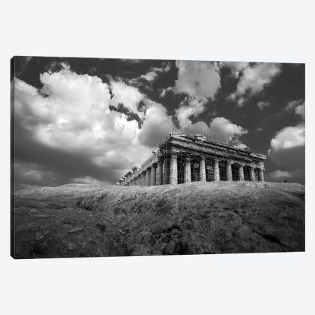 Parthenon Canvas Print #MOL486} by Moises Levy Canvas Art Print