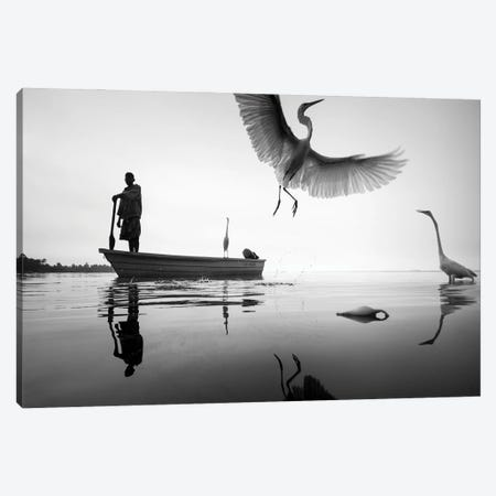 Queen Canvas Print #MOL488} by Moises Levy Canvas Wall Art