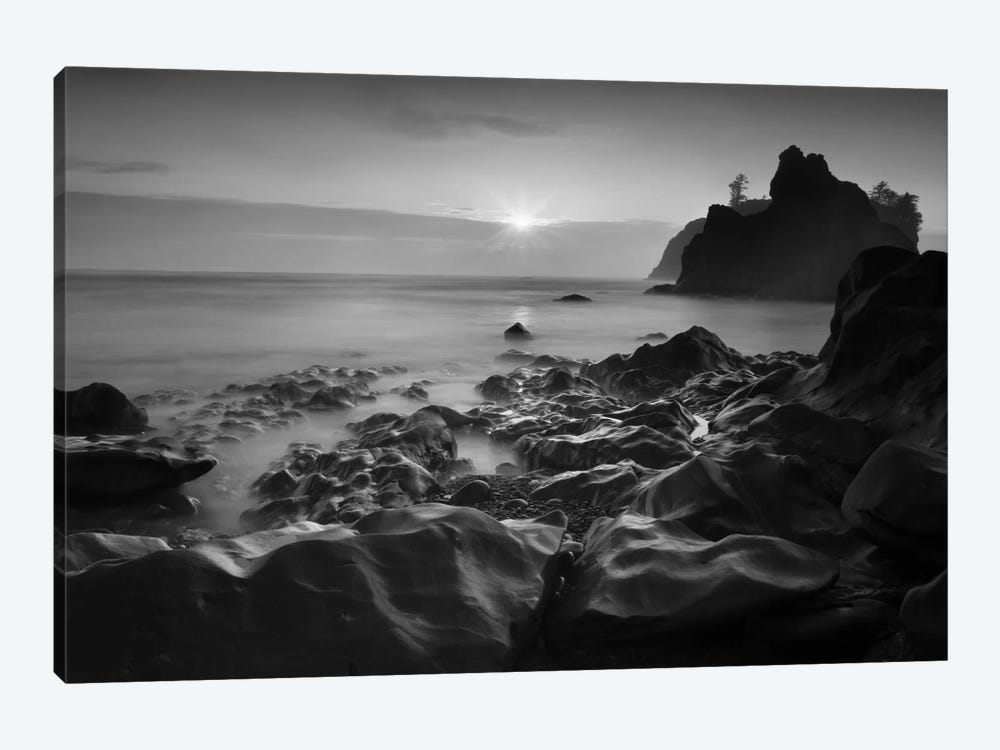 Sunset At Ruby Beach by Moises Levy 1-piece Canvas Art Print
