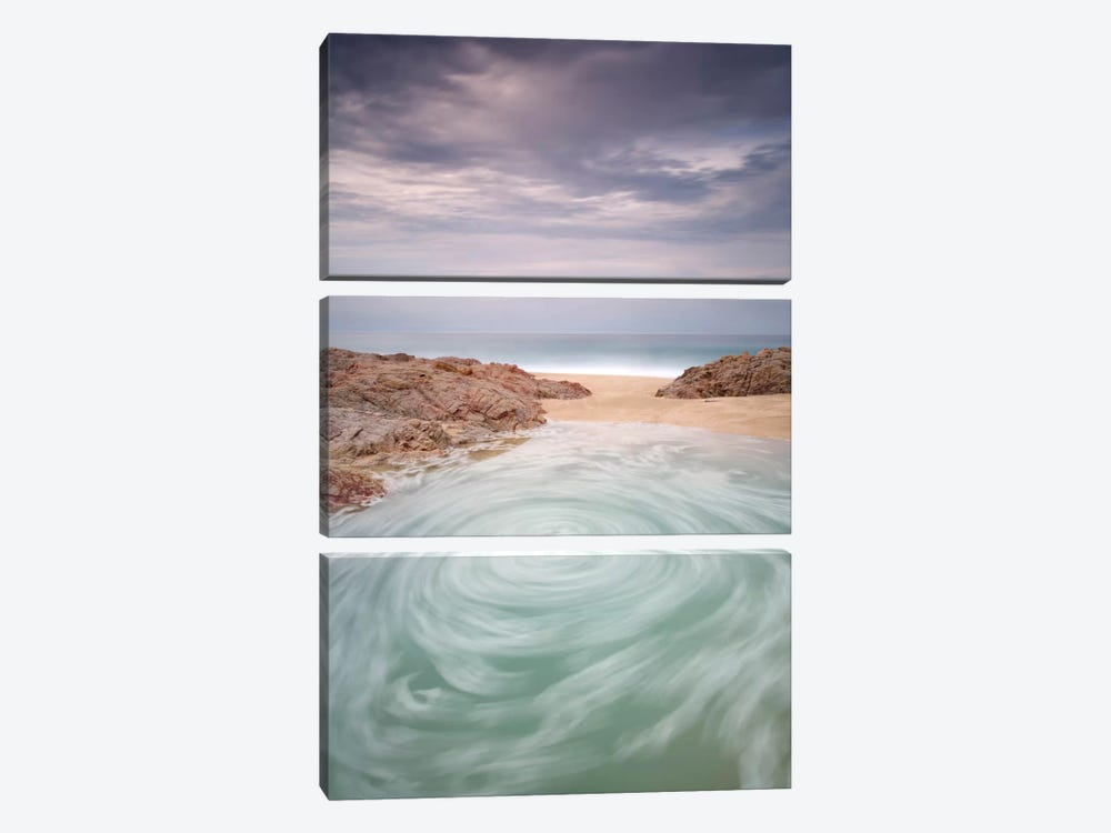 Los Cabos by Moises Levy 3-piece Canvas Print