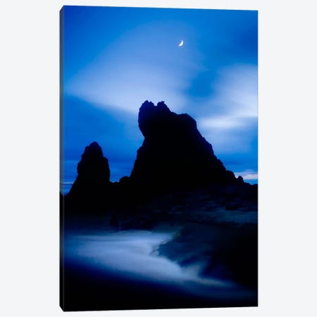 Lunda En Ruby Beach Color Canvas Print #MOL66} by Moises Levy Art Print