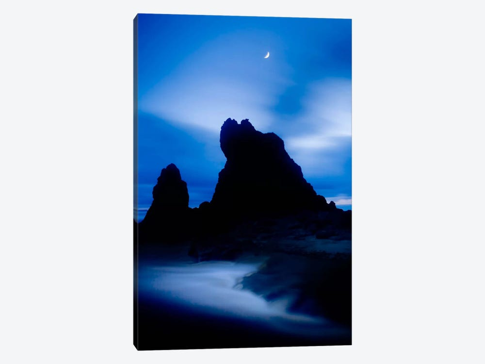 Lunda En Ruby Beach Color by Moises Levy 1-piece Canvas Wall Art