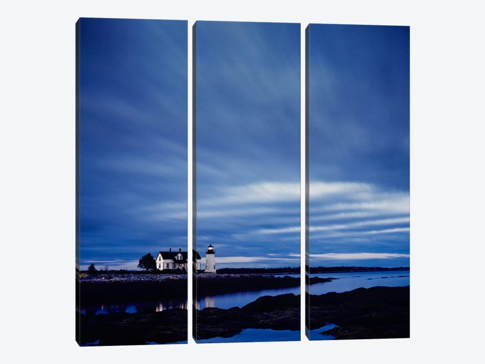 Prospect Light Dawn Color by Moises Levy 3-piece Canvas Art