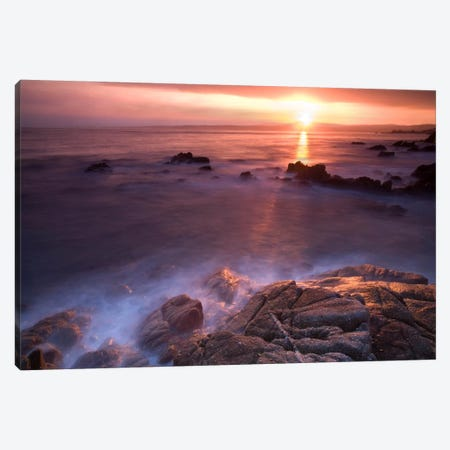 Rocas En Amanecer Canvas Print #MOL73} by Moises Levy Canvas Print