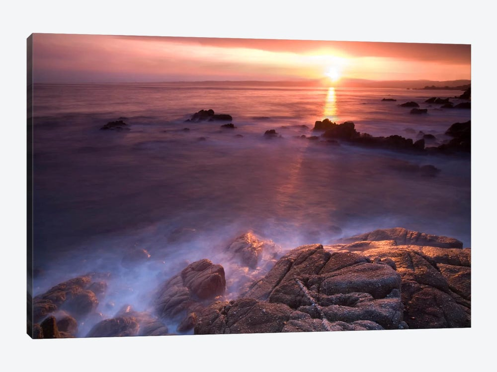 Rocas En Amanecer by Moises Levy 1-piece Canvas Art