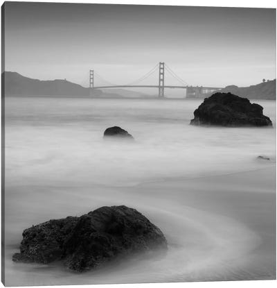 Rocks And Gg #2 Canvas Art Print