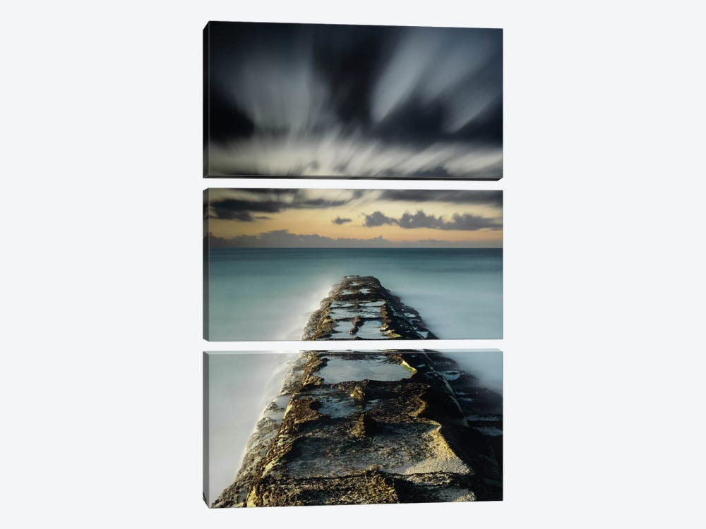 Wave Break 3-piece Canvas Art