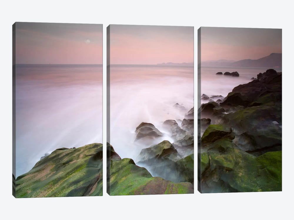 San Francisco #1 by Moises Levy 3-piece Canvas Wall Art