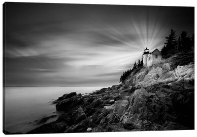 Bass Harbor Lighthouse Canvas Print #MOL88