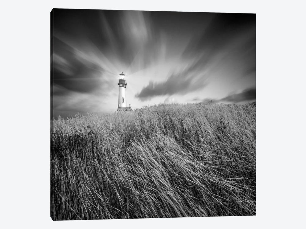 Yaquina Lighthouse #3 by Moises Levy 1-piece Canvas Print