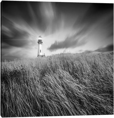 Yaquina Lighthouse #3 Canvas Art Print