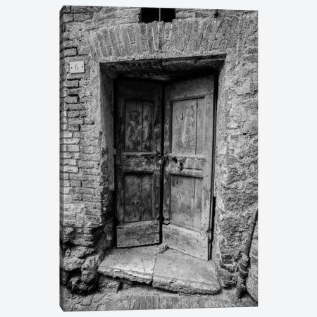 Siena Door Canvas Print #MOL93} by Moises Levy Canvas Art Print