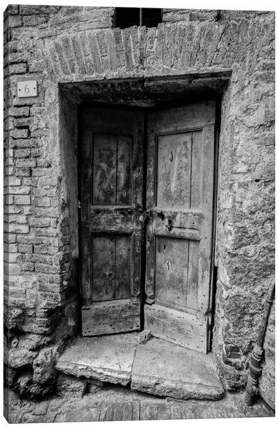 Siena Door Canvas Print #MOL93