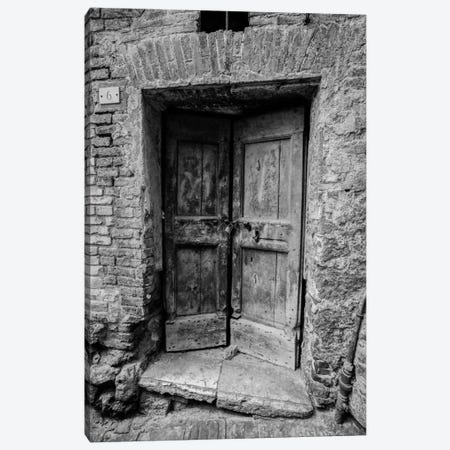 Siena Door Canvas Print #MOL93} by Moises Levy Canvas Art Print