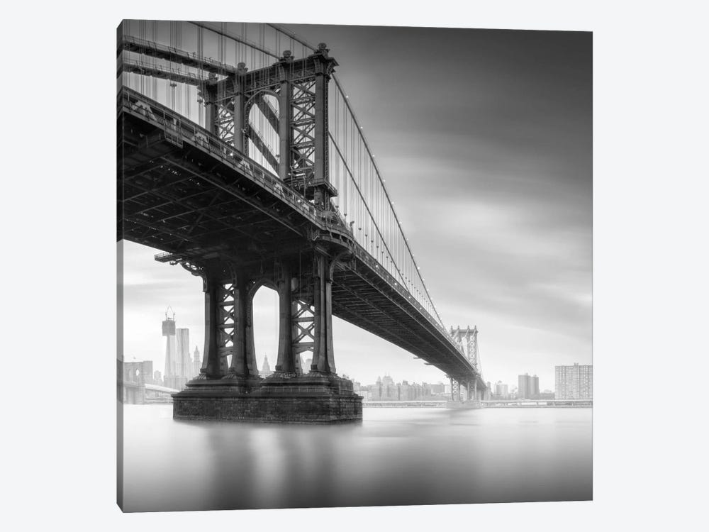 Manhattan Bridge #1 by Moises Levy 1-piece Canvas Artwork