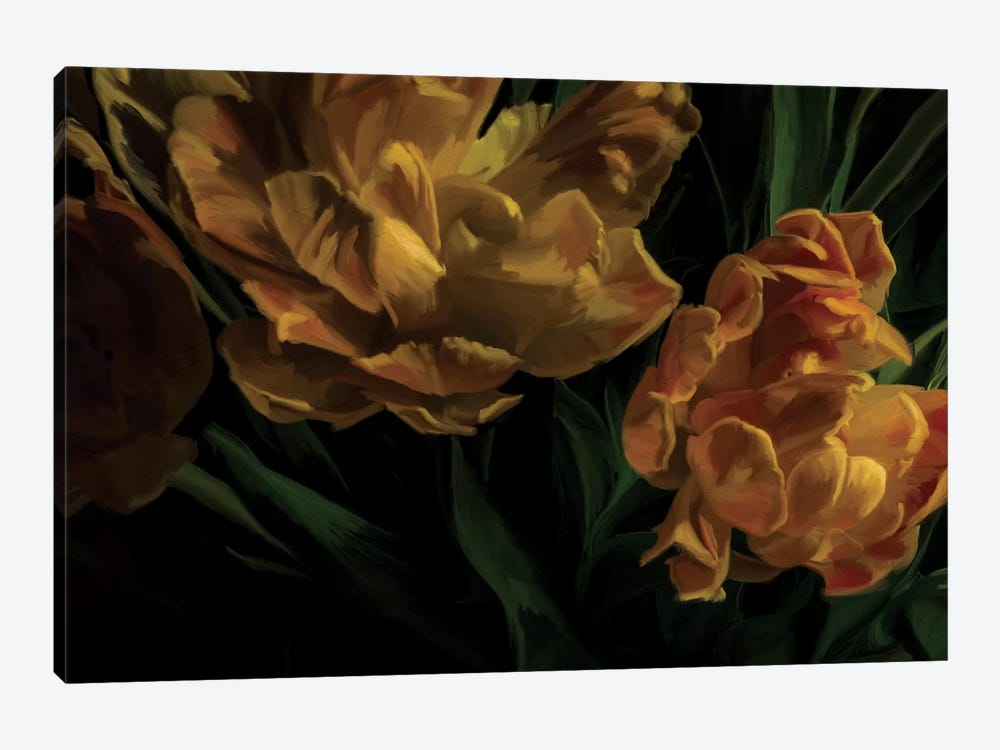 Tulips Citrine by 5by5collective 1-piece Canvas Print