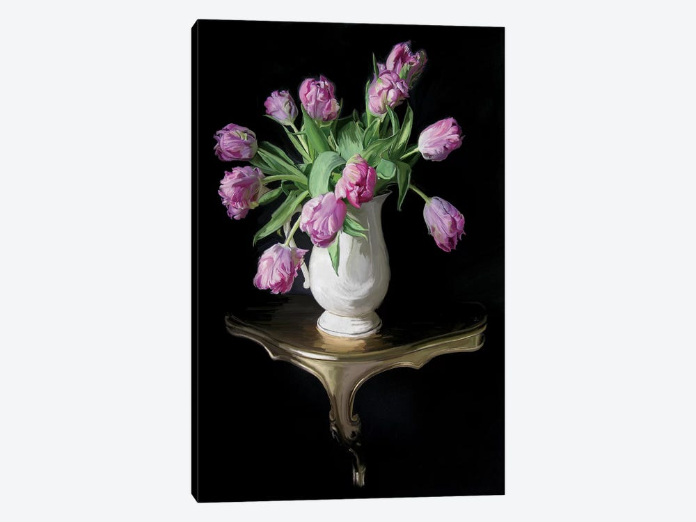 Cascading Tulips by 5by5collective 1-piece Canvas Art Print