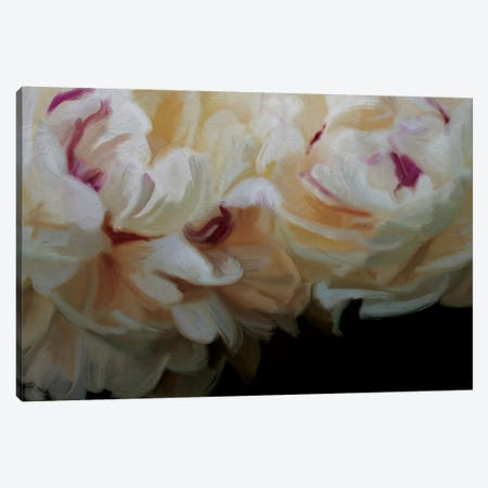 Ivory Blossom Canvas Print #MOO6} by 5by5collective Canvas Print