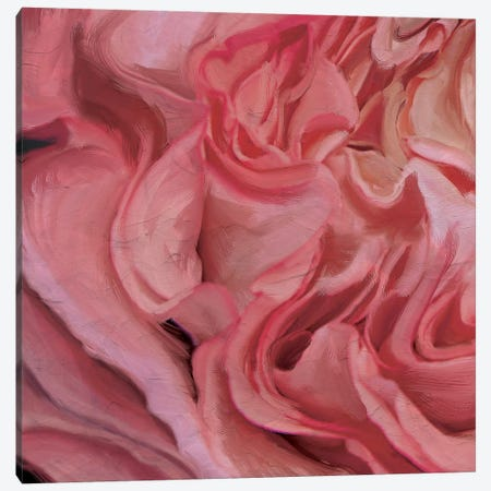 Ruched Silk Canvas Print #MOO9} by 5by5collective Canvas Wall Art