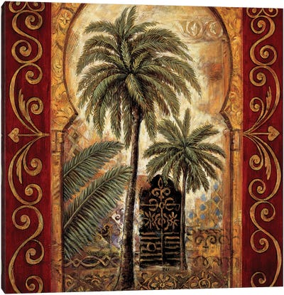 Moroccan Collage I Canvas Art Print