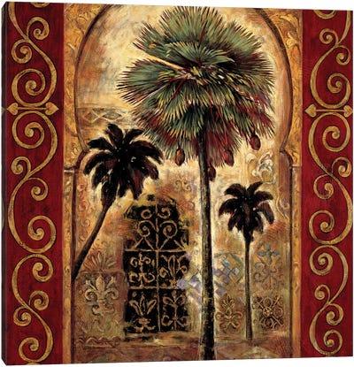 Moroccan Collage II Canvas Art Print
