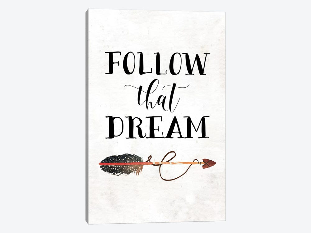 Follow That Dream I by Tara Moss 1-piece Canvas Art