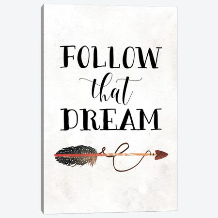 Follow That Dream I Canvas Print #MOS10} by Tara Moss Canvas Art