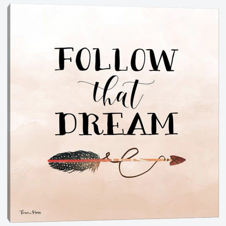 Follow That Dream II Canvas Print #MOS11} by Tara Moss Canvas Art