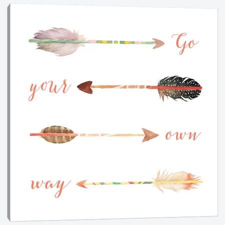 Go Your Own Way Canvas Print #MOS12} by Tara Moss Canvas Art