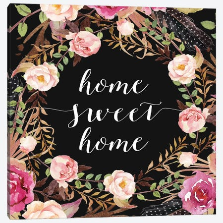 Home Sweet Home Canvas Print #MOS15} by Tara Moss Canvas Print