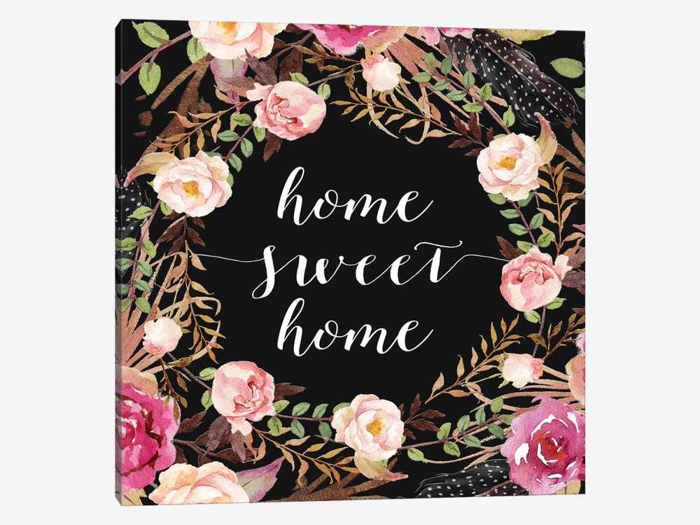 Home Sweet Home by Tara Moss 1-piece Canvas Print