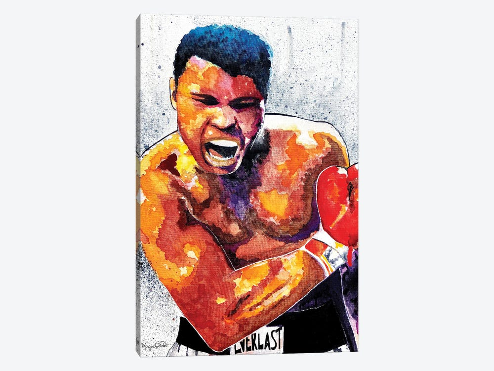 The Greatest by Morgan Overton 1-piece Canvas Wall Art