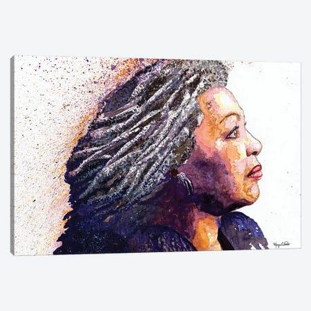 Toni Morrison Canvas Print #MOV15} by Morgan Overton Canvas Art