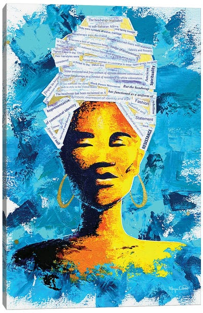 Dhuku Canvas Art Print