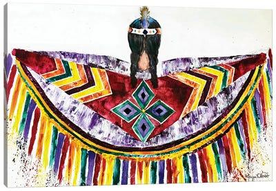 Fancy Shawl Canvas Art Print
