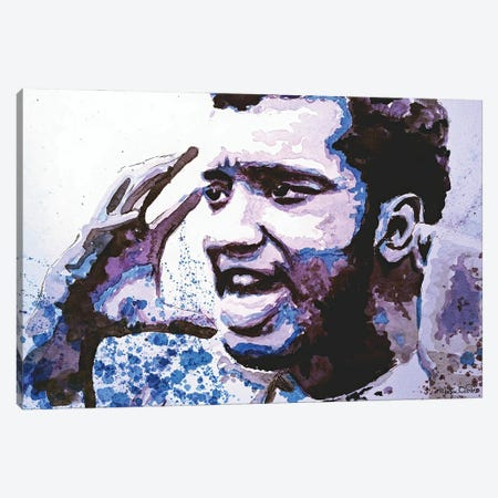 Fred Hampton Canvas Print #MOV21} by Morgan Overton Canvas Art