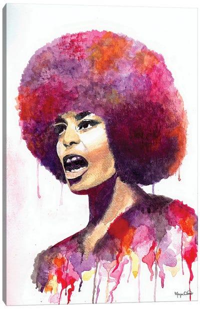 Angela Davis Canvas Art Print
