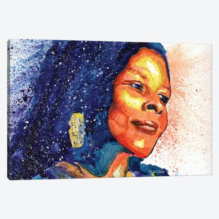 Assata Shakur Canvas Print #MOV3} by Morgan Overton Canvas Art