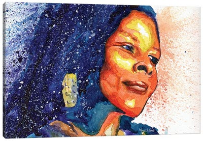 Assata Shakur Canvas Art Print