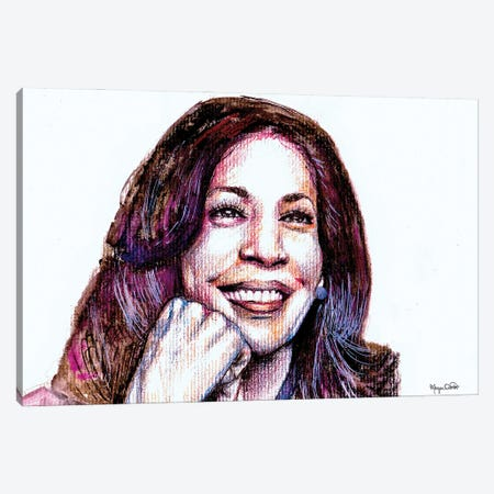 Madam VP Canvas Print #MOV7} by Morgan Overton Art Print
