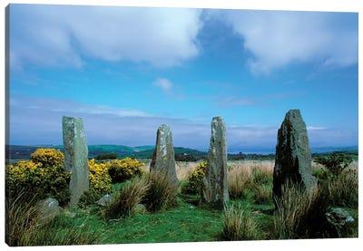 Ireland, Co Cork, Ardgroom Outward, Druid Circle Canvas Art Print