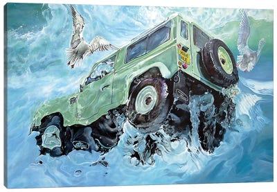 Hue 166 Canvas Art Print