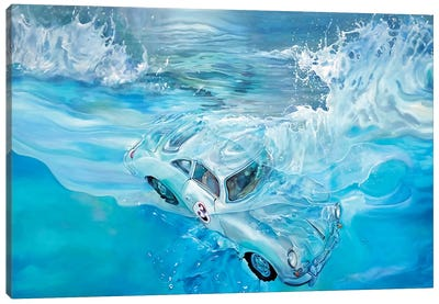 Porsche No. 3 Canvas Art Print