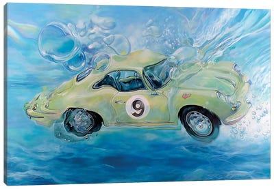 Porsche No. 9 Canvas Art Print